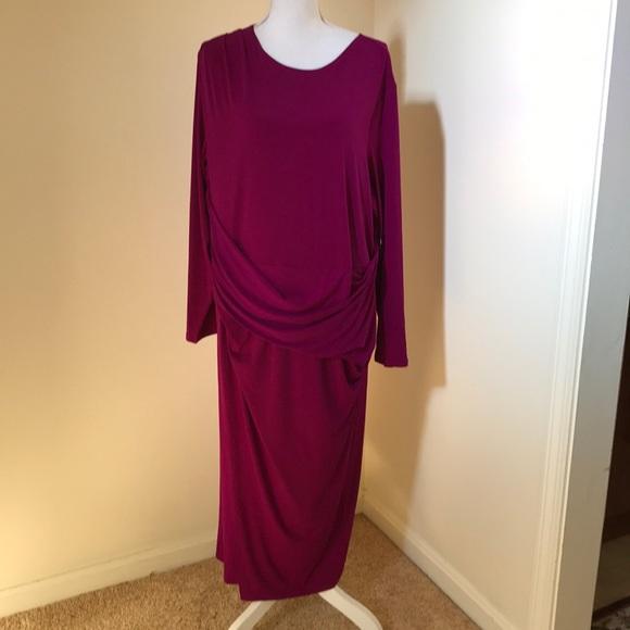 RACHEL Rachel Roy Dresses & Skirts - NWT! Rachel Rachel Roy 3X violet midi dress